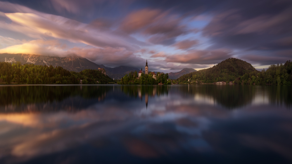 A piece of fine art art photography titled Bled Gamma by Juan Pablo de Miguel