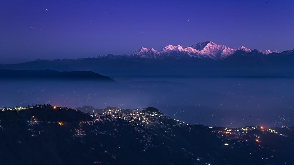 A piece of fine art art photography titled Kanchenjunga by Peter Walmsley