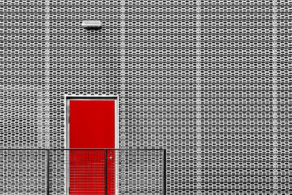 A piece of fine art art photography titled Red Door by Gary E. Karcz