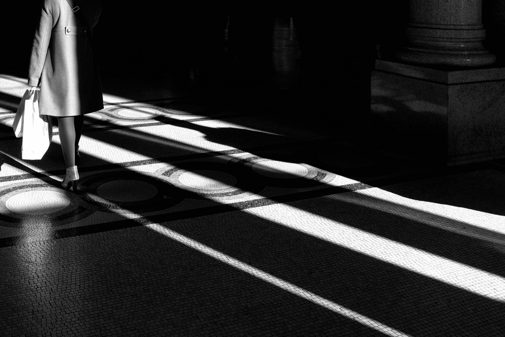 A piece of fine art art photography titled Ghost Into the Light by pasquale spinelli