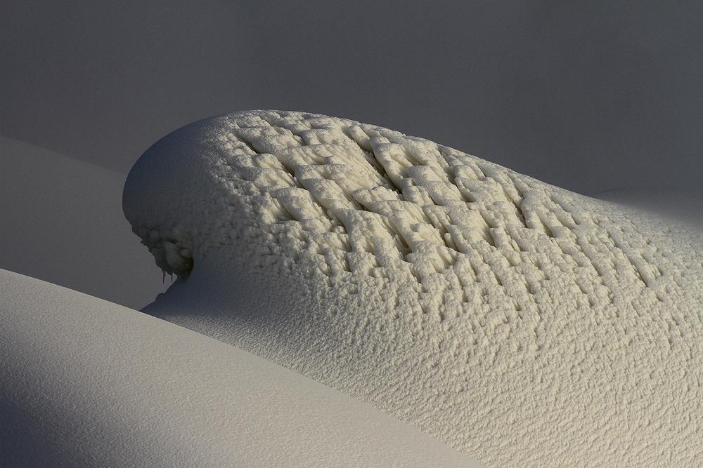 Aggressive snow