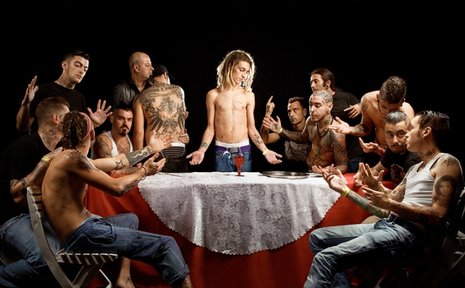 A piece of fine art art photography titled The Last Supper by De Sousa