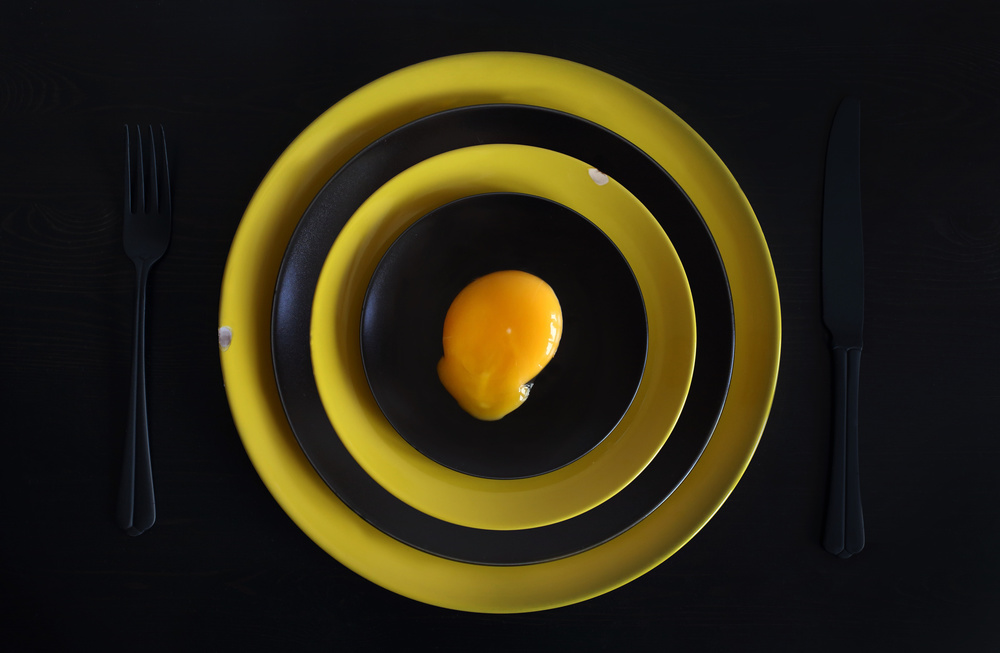 A piece of fine art art photography titled The Target or Sniper's Meal (Improved Version) by Victoria Ivanova
