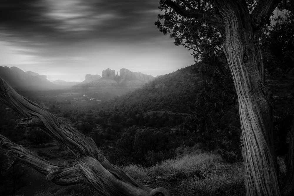 View this piece of fine art photography titled cathedral rock by Zbyszek Nowak