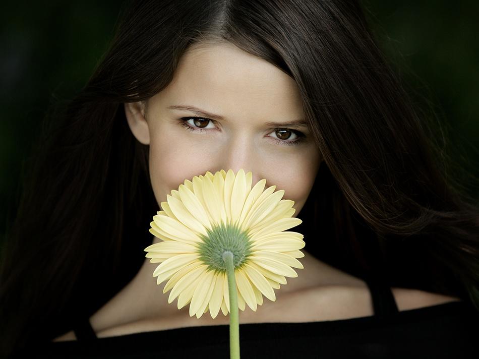 A piece of fine art art photography titled Smile by Tomek Dyczewski
