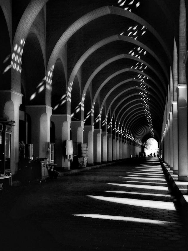 A piece of fine art art photography titled BirAli Mosque by Amril Nuryan