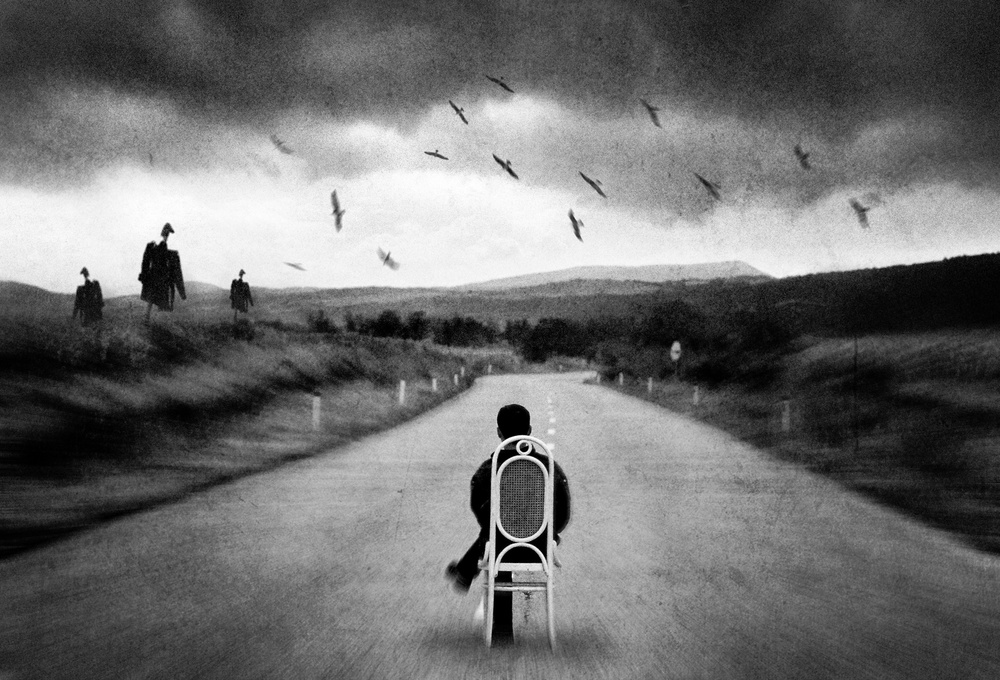 A piece of fine art art photography titled Journey Into the Unknown by Dragan Ristic