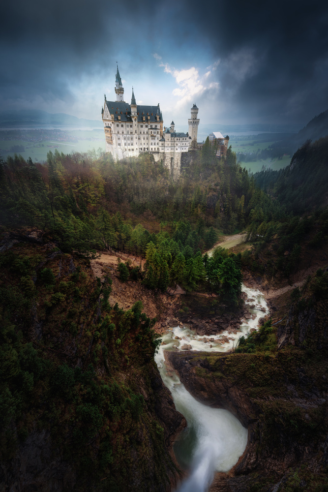 A piece of fine art art photography titled Neuschwanstein by Juan Pablo de Miguel