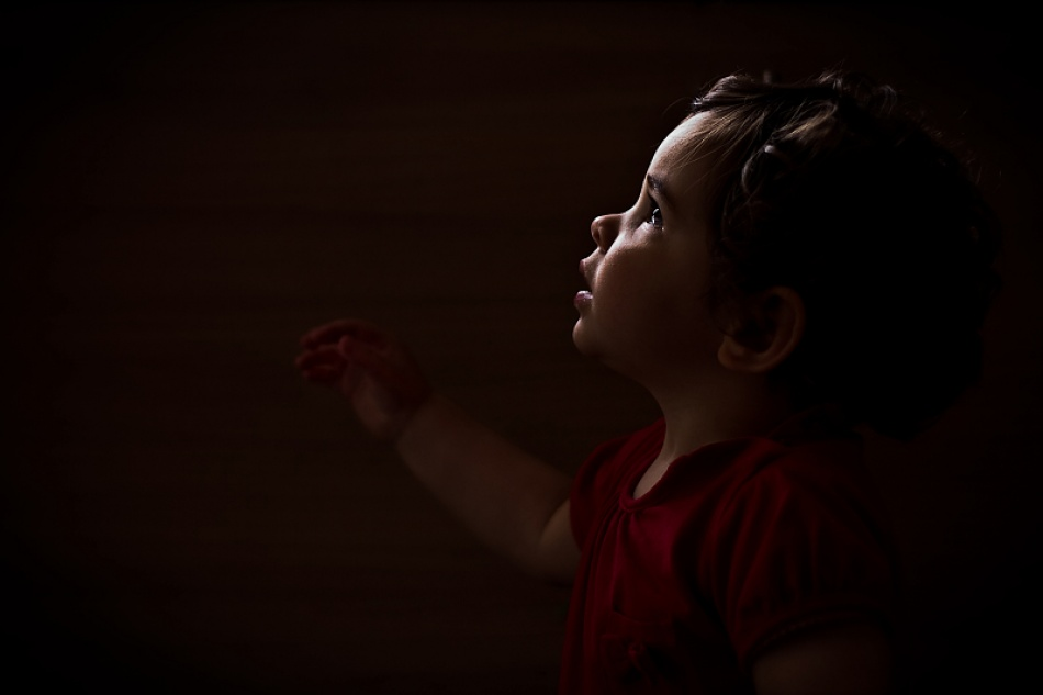 A piece of fine art art photography titled Precious Angel by Tim Corbeel