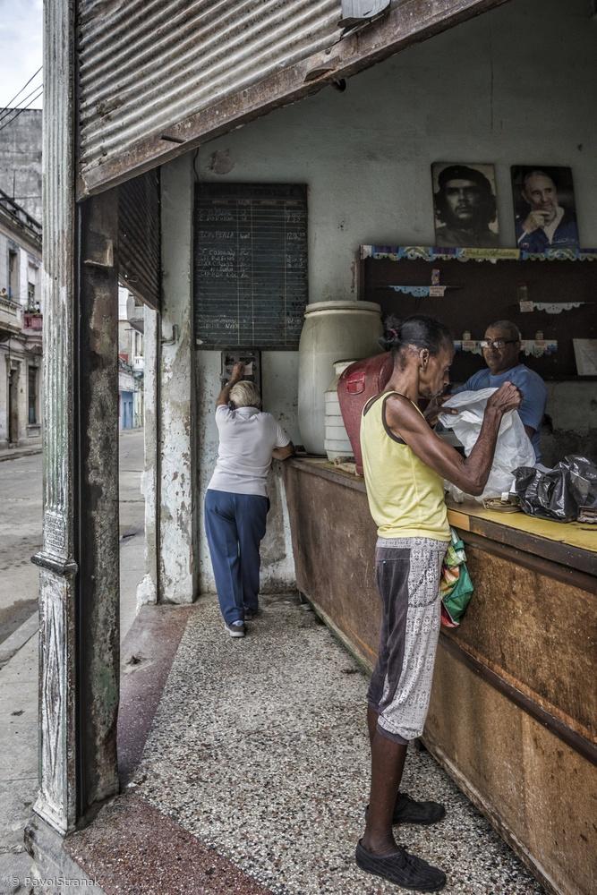 story on a street corner