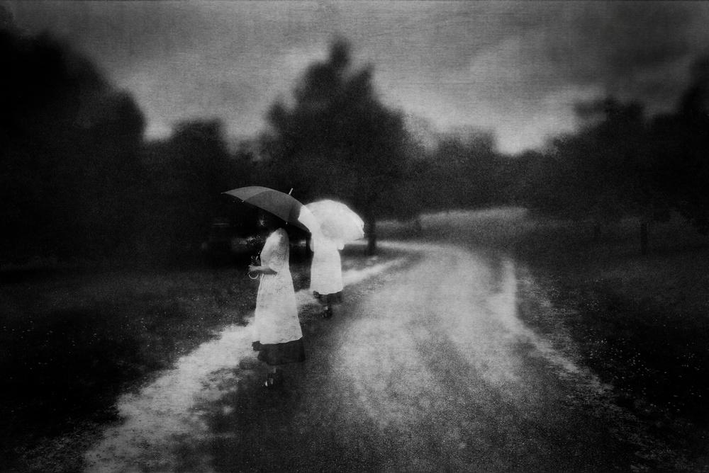 A piece of fine art art photography titled Lost Myself by Teruhiko Tsuchida