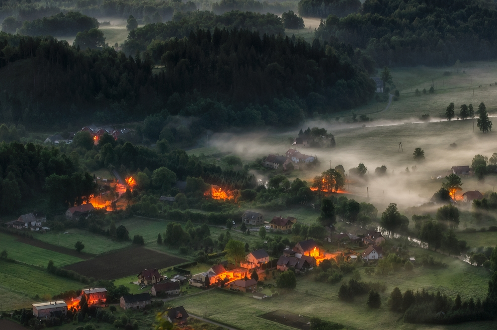 A piece of fine art art photography titled Before Morning by Piotr Krol (Bax)