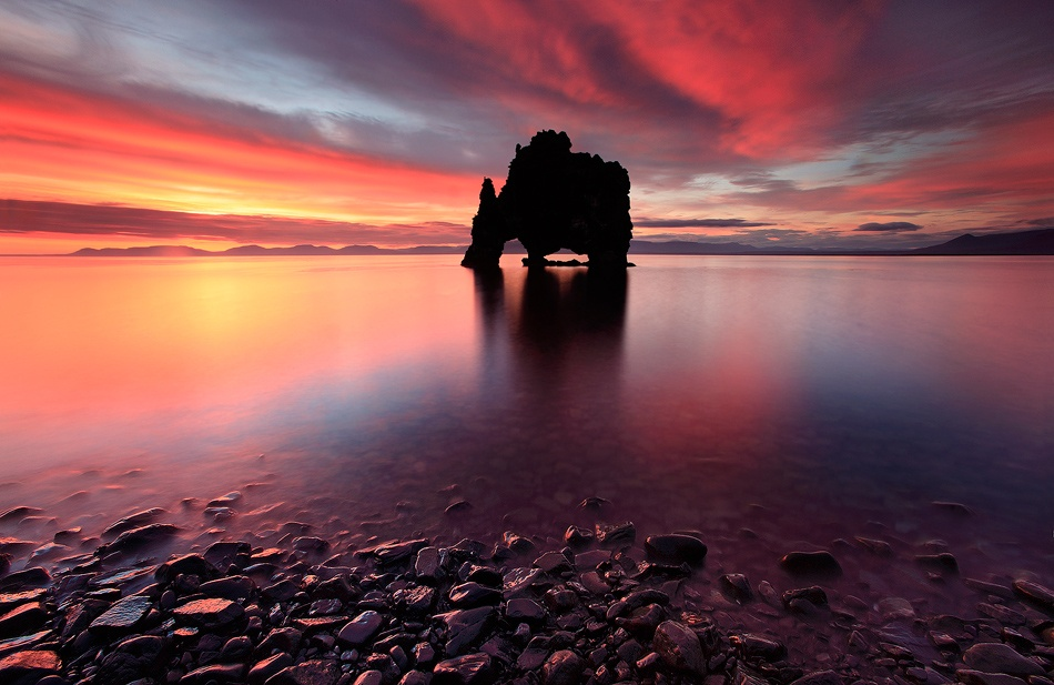 A piece of fine art art photography titled Dynosaur Rock by Örvar Atli Þorgeirsson