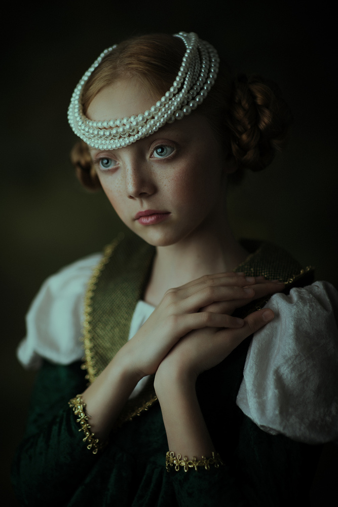 A piece of fine art art photography titled Age of Innocence by Roza Sampolinska