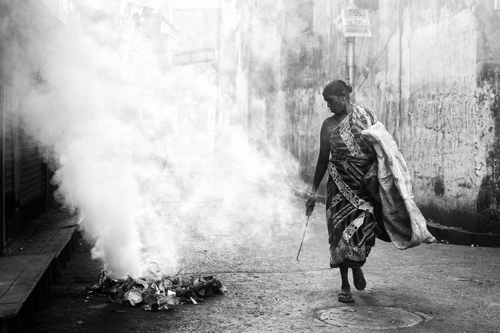 A piece of fine art art photography titled Kolkata by Tashi_Delek Nakata