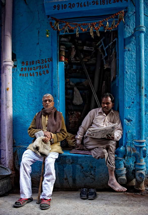 A piece of fine art art photography titled Fellas by Prateek Dubey