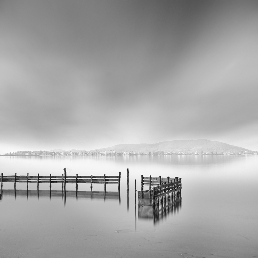 A piece of fine art art photography titled Missolonghi Lagoon 002 by George Digalakis