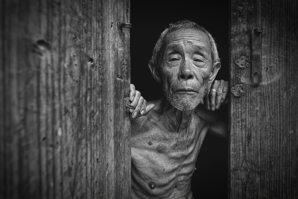 A piece of fine art art photography titled Aging Gracefully by Ahmed Abdulazim