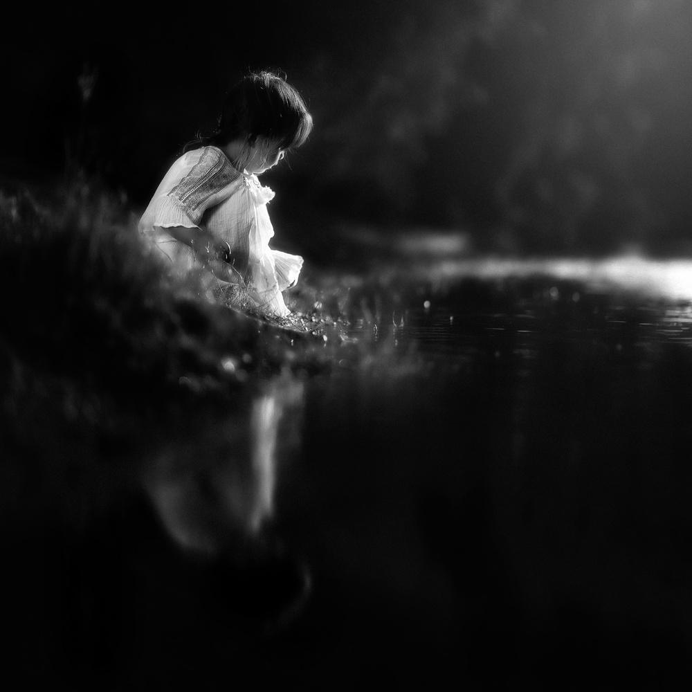 A piece of fine art art photography titled Lauren by Despird Zhang