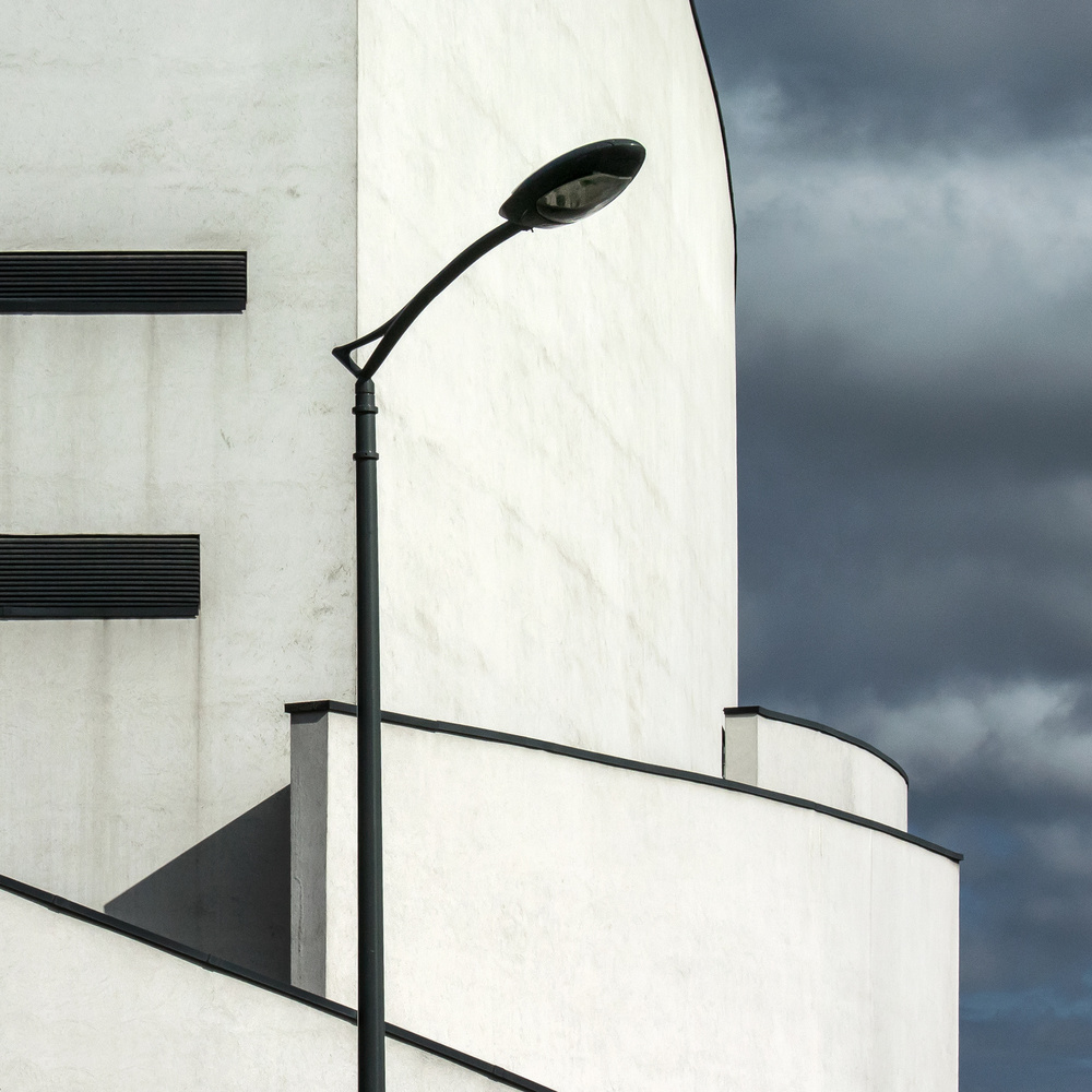 A piece of fine art art photography titled White House by Lus Joosten