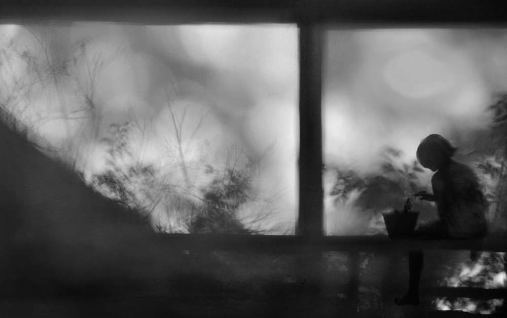 A piece of fine art art photography titled Inner Silence by Ekkachai Khemkum