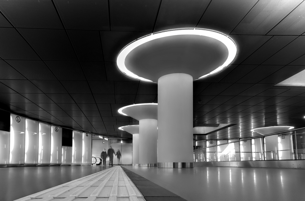 A piece of fine art art photography titled Metro Station by Adam Fritzen