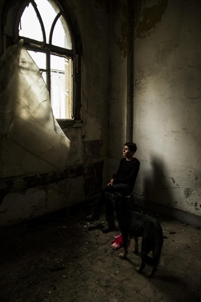 A piece of fine art art photography titled Friend by Fatih Reha Coşkun