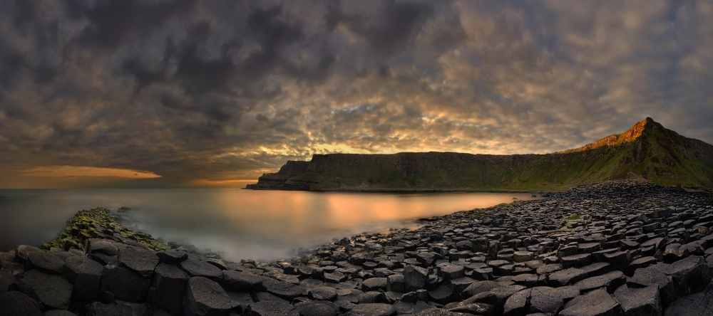 A piece of fine art art photography titled Morning In the Land of Giants by Pawel Kucharski