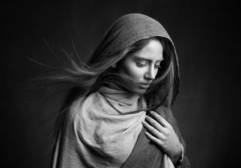 A piece of fine art art photography titled Nafas by Mehdi Mokhtari
