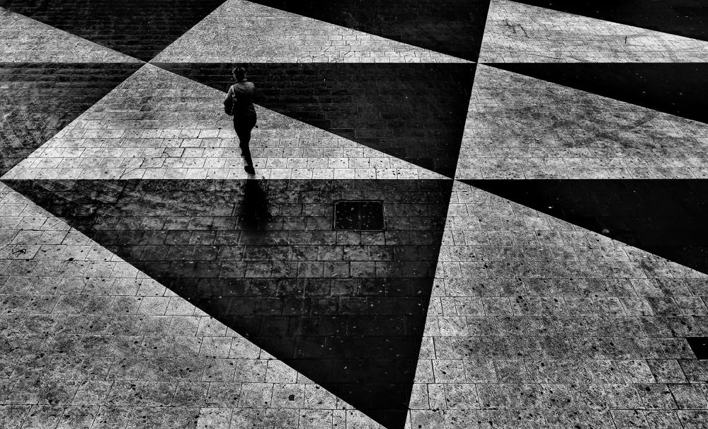 A piece of fine art art photography titled Sergelstorg by ihyabozkurt