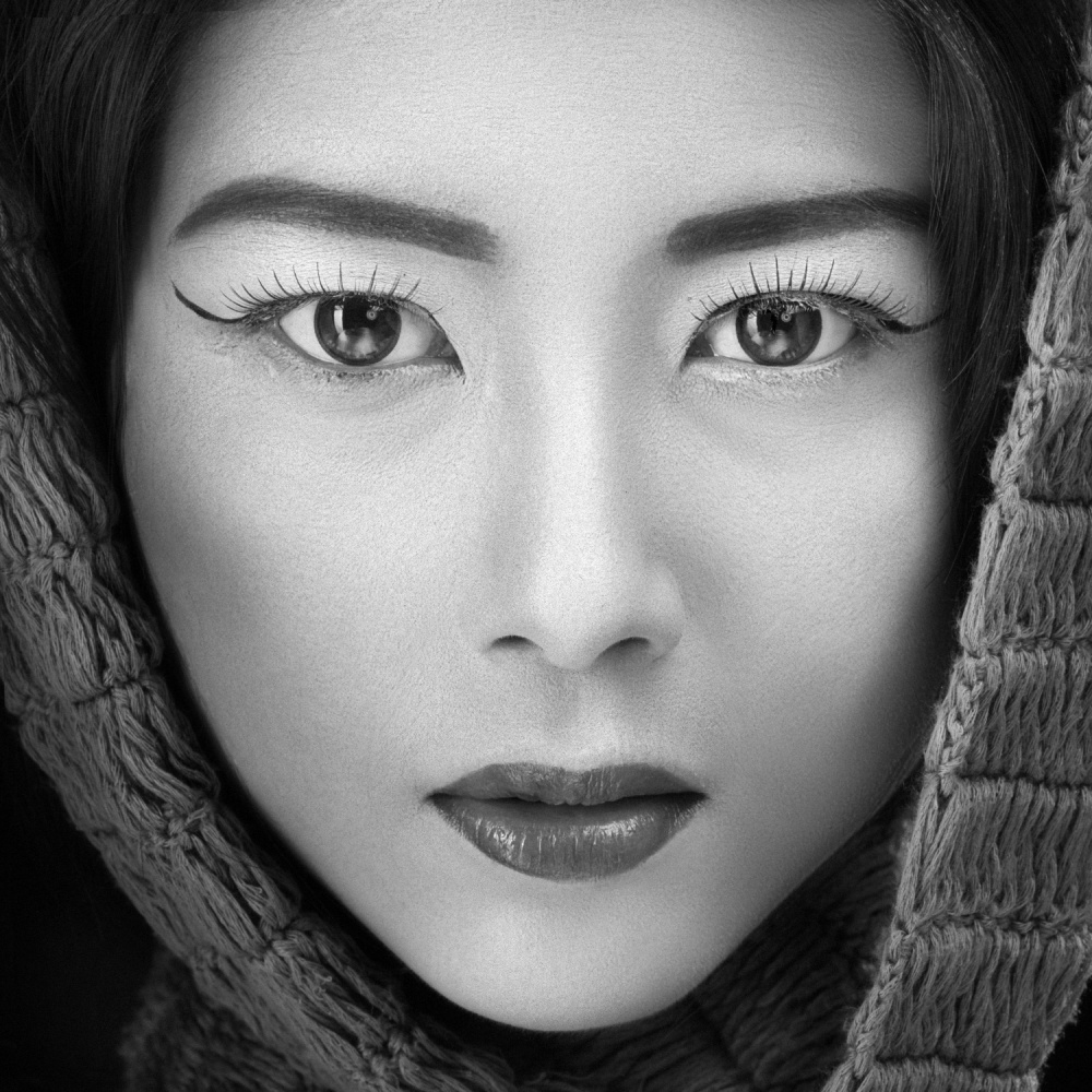 A piece of fine art art photography titled Portrait of Icha by Arief Siswandhono