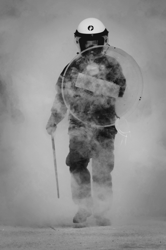 Through the teargas