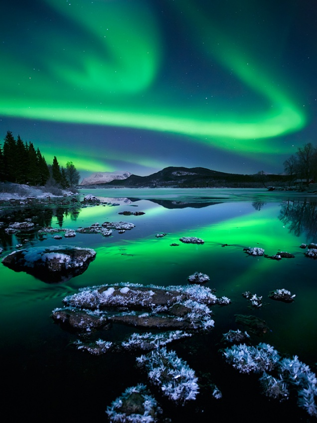 A piece of fine art art photography titled Night to Remember by Arild Heitmann