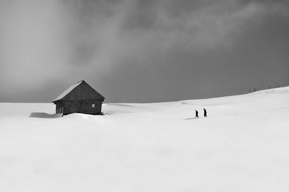 A piece of fine art art photography titled Drumul Spre Casa (the Way Home) by Vlad Dumitrescu