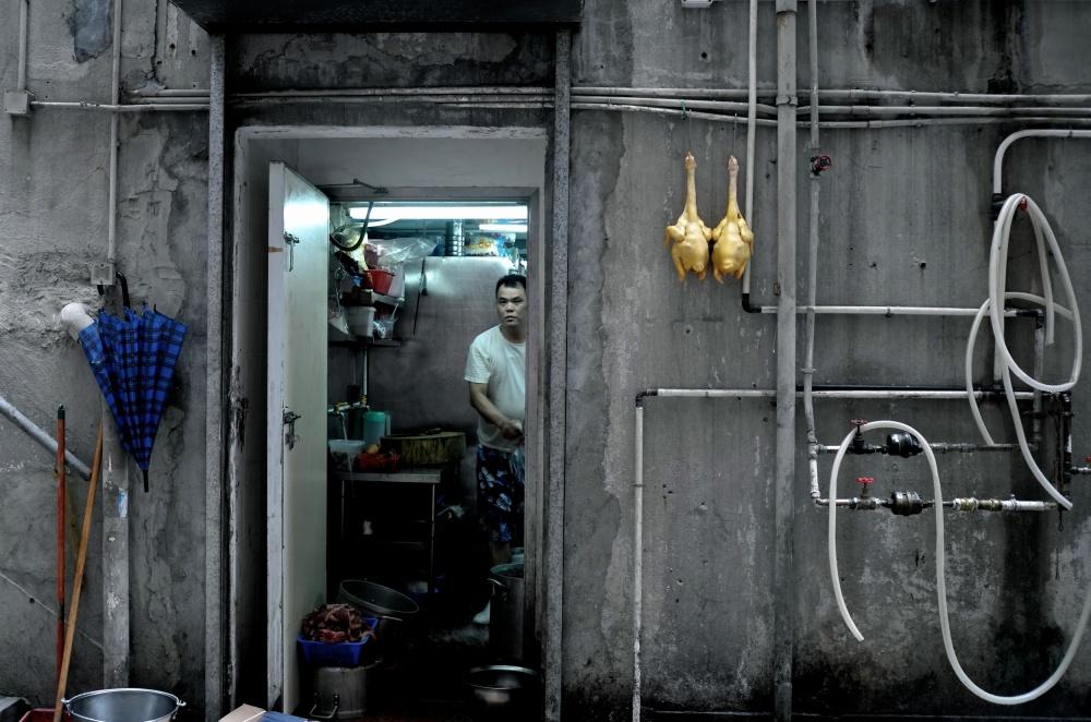 A piece of fine art art photography titled Backstreet by Sarah Choi