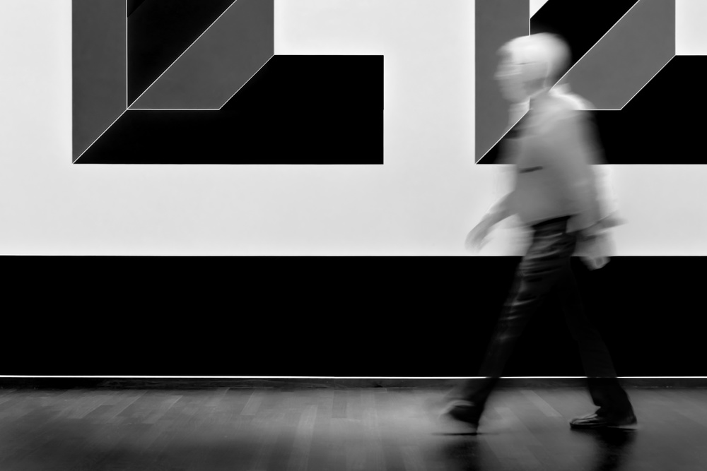 A piece of fine art art photography titled Art Walker by Marc Huybrighs