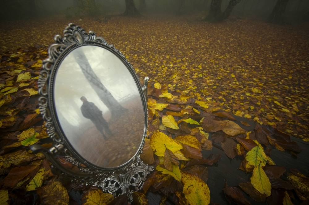 A piece of fine art art photography titled Mirror by ErolAYYILDIZ