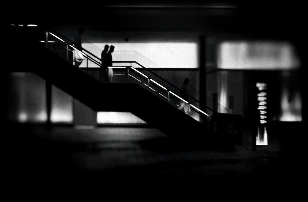 A piece of fine art art photography titled Going To by Ahmad Kaddourah
