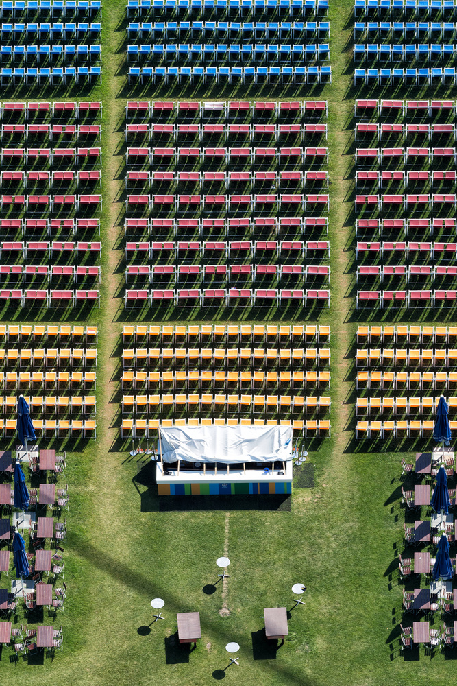 A piece of fine art art photography titled Seating by Peter Pfeiffer