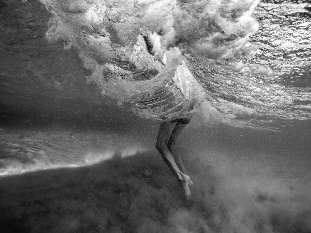 A piece of fine art art photography titled The Wave by Martin Ksinan