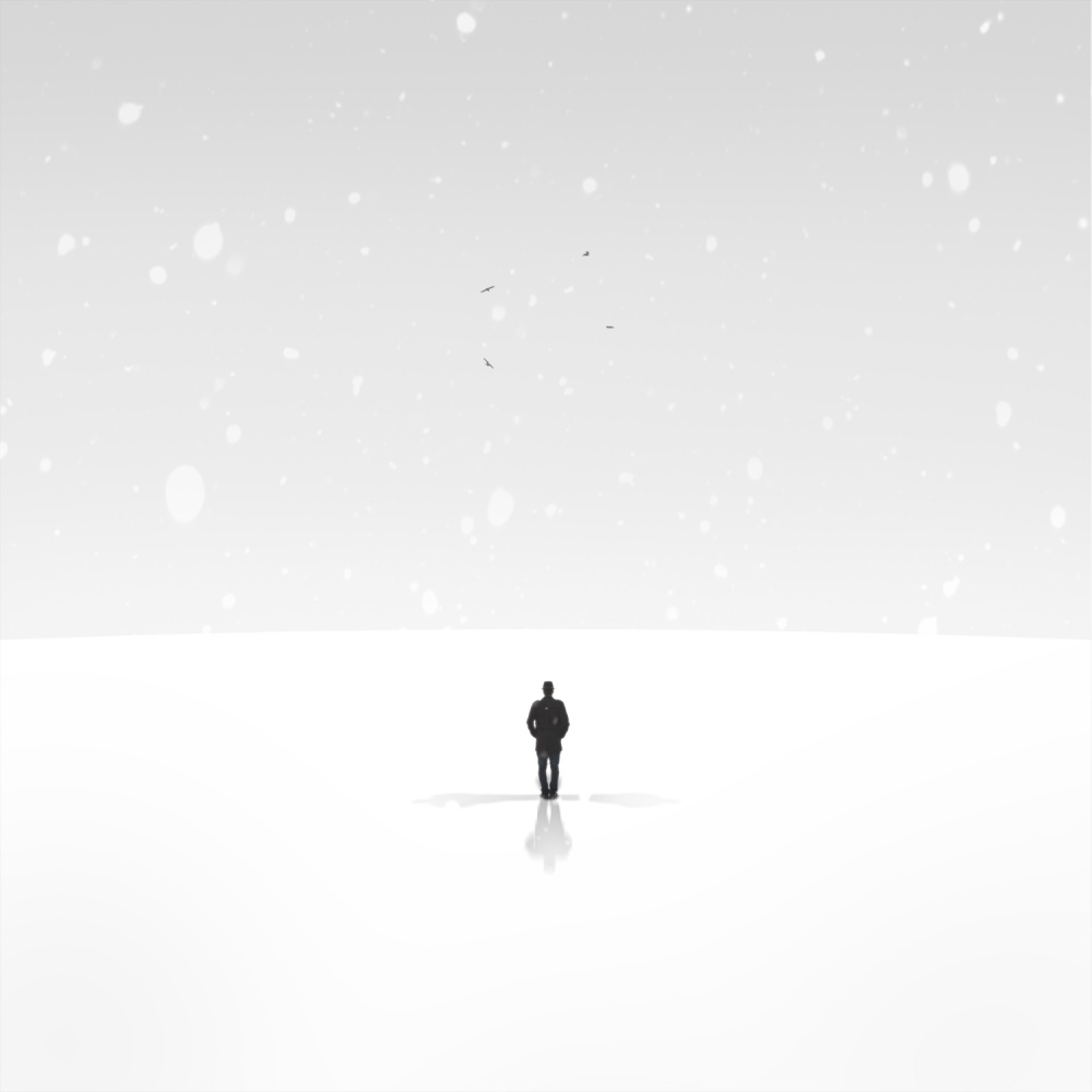 A piece of fine art art photography titled Shadows by Hossein Zare