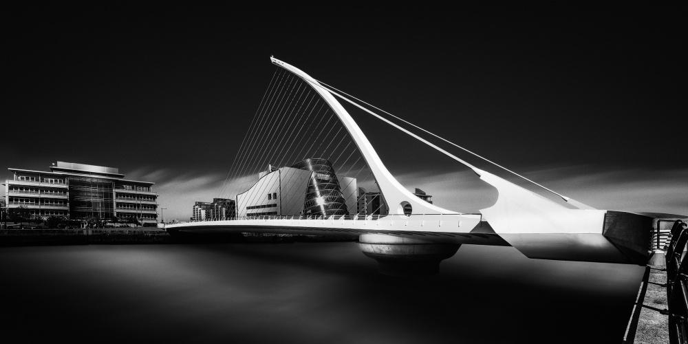 A piece of fine art art photography titled Beckett's Bridge by Barry Walsh