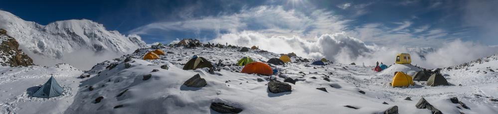 A piece of fine art art photography titled Tête Rousse Glacier by Anna  & Maciej Wojtas