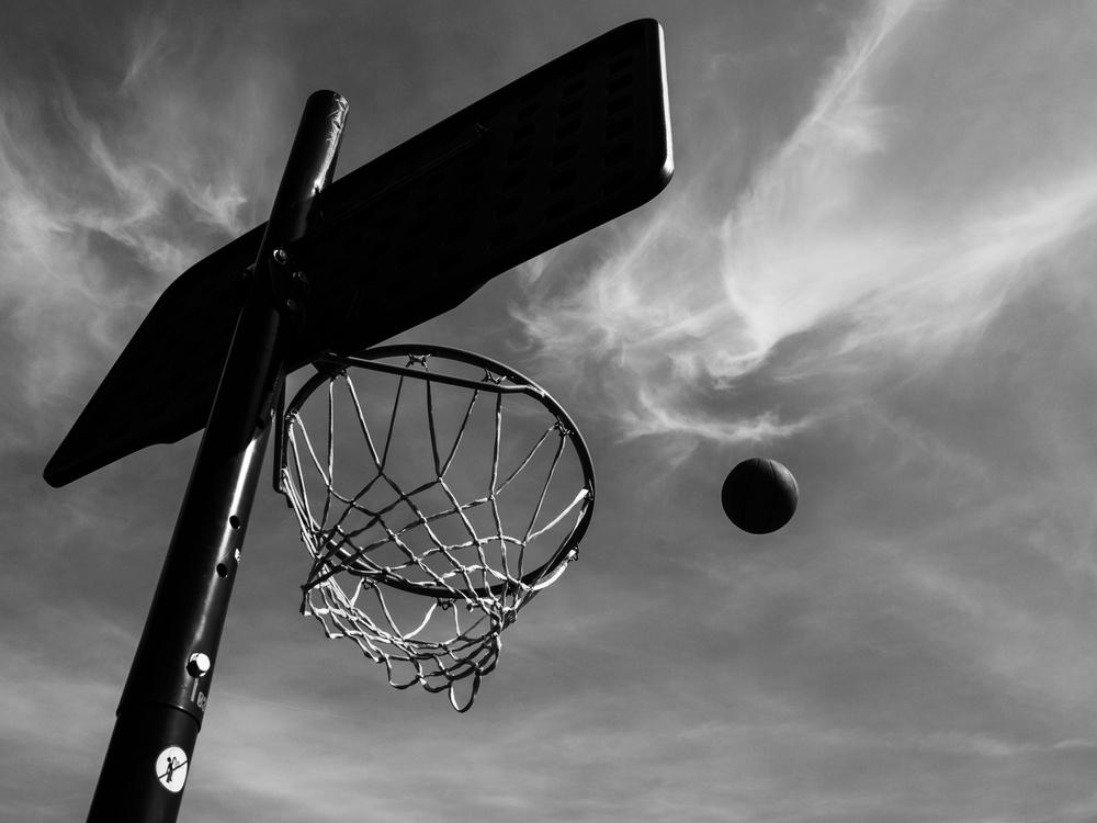 A piece of fine art art photography titled No. Slam Dunk by Marius Cinteză