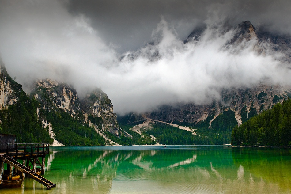A piece of fine art art photography titled Braies by Tomas Suarez