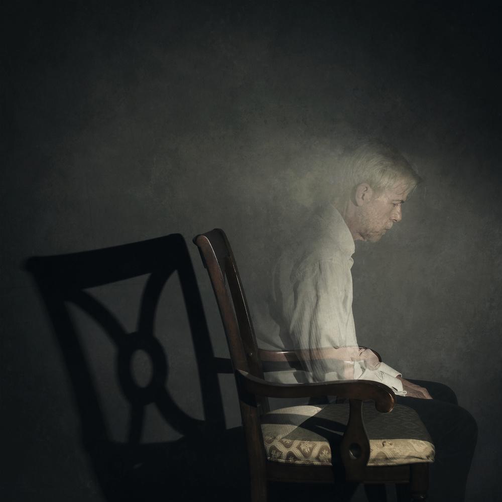 A piece of fine art art photography titled Phantom Living by Michael Bilotta