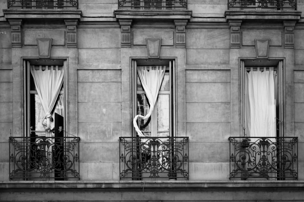 A piece of fine art art photography titled Chacun à Sa Façon (each In His Own Way) by Anne Rose Pretorius
