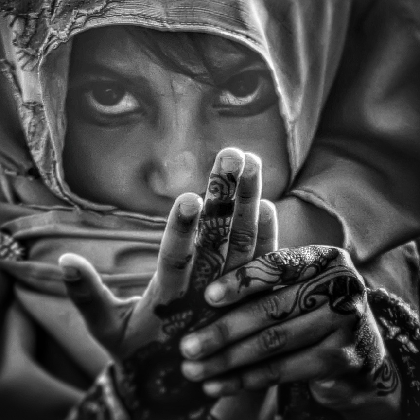 A piece of fine art art photography titled Portrait of Shifa by Robwhy66