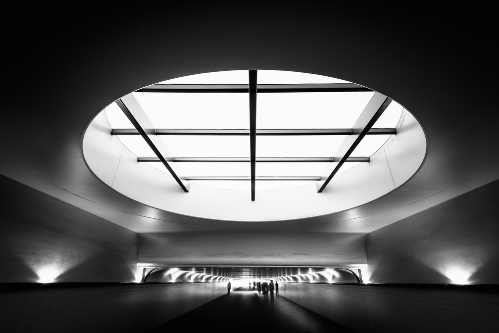 A piece of fine art art photography titled Fill the Hole by Christophe Staelens