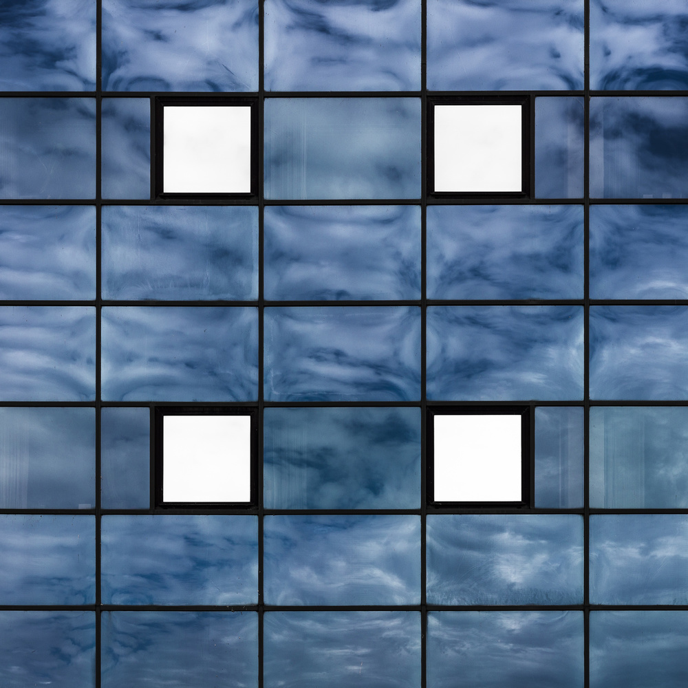A piece of fine art art photography titled Windows by minimalist
